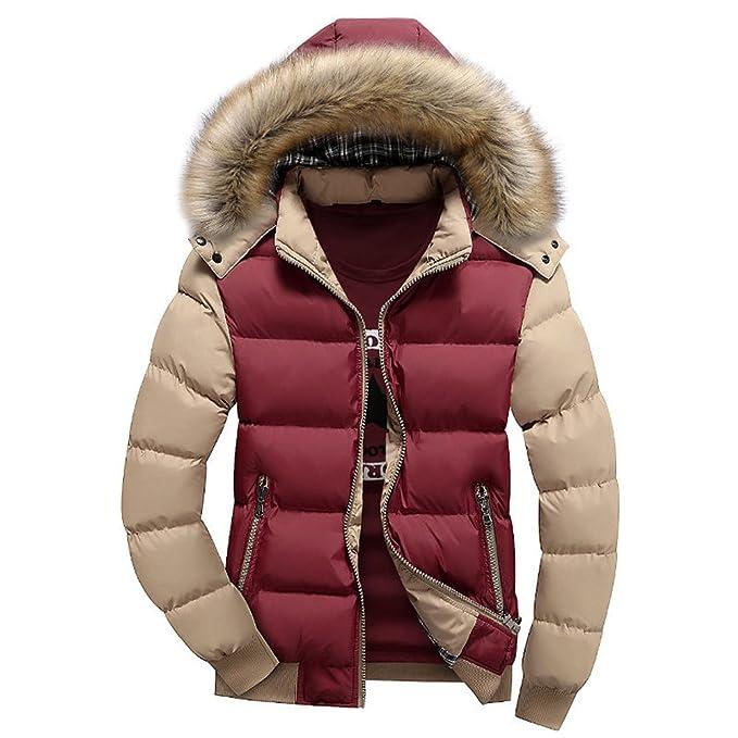 U-shot forro de perchero de pared de chaqueta de invierno cuello de piel gruesa chaqueta Parka chaqueta cortavientos