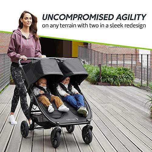 61gbVYefbmL - Baby Jogger City Mini GT2 Double Stroller, Jet