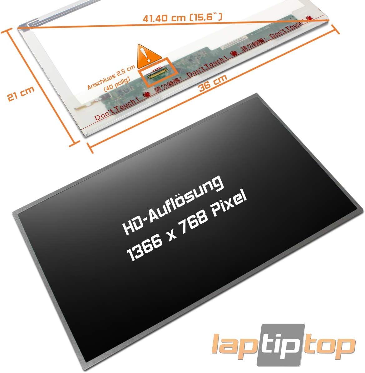 Laptiptop 15,6 LED Display Screen matt Ersatz f/ür HP Compaq 749020-001 1366x768 40pin Bildschirm Panel