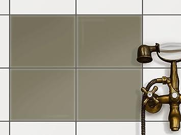 Creatisto Bad Küche Fliesenfolie Sticker Aufkleber | Fliesen Dekofolie Bad  Fliesen Fliesenbild Küchen Deko