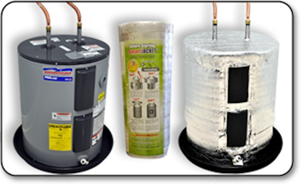 SmartJacket Water Heater Blanket Insulation System, Energy Star Certified, R value-7.1 by SmartJacket (Image #2)