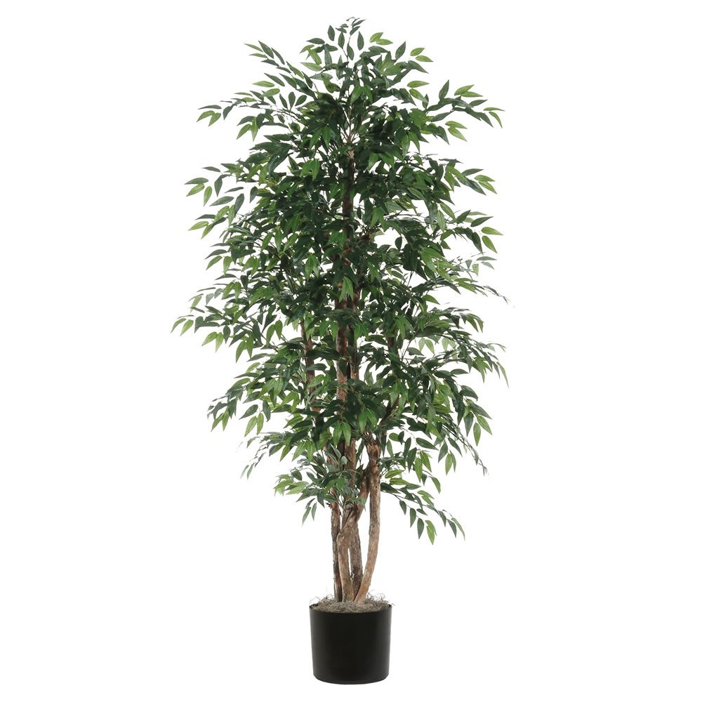 Vickerman TEX1460-07 Everyday Smilax Tree, Green, 6' by Vickerman