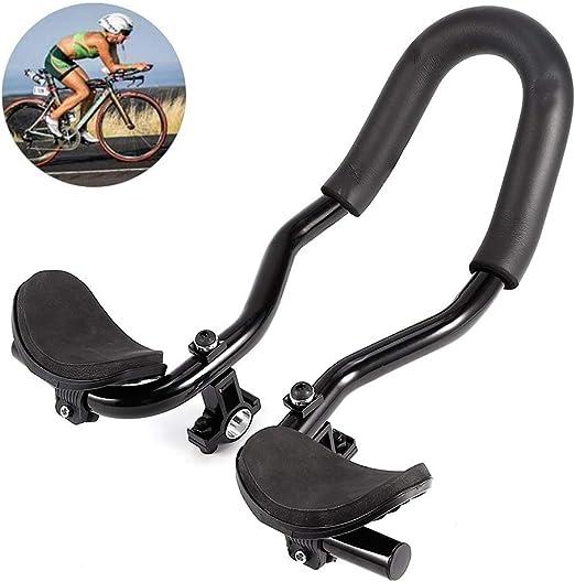 Koowaa Manillar de Bicicleta Aero Bar Ciclismo Ajustable ...