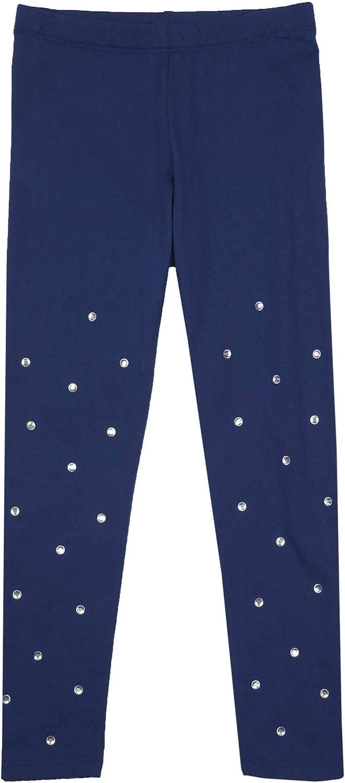 Kate Mack Girls Holiday Magic Leggings in Navy Sizes 4-12