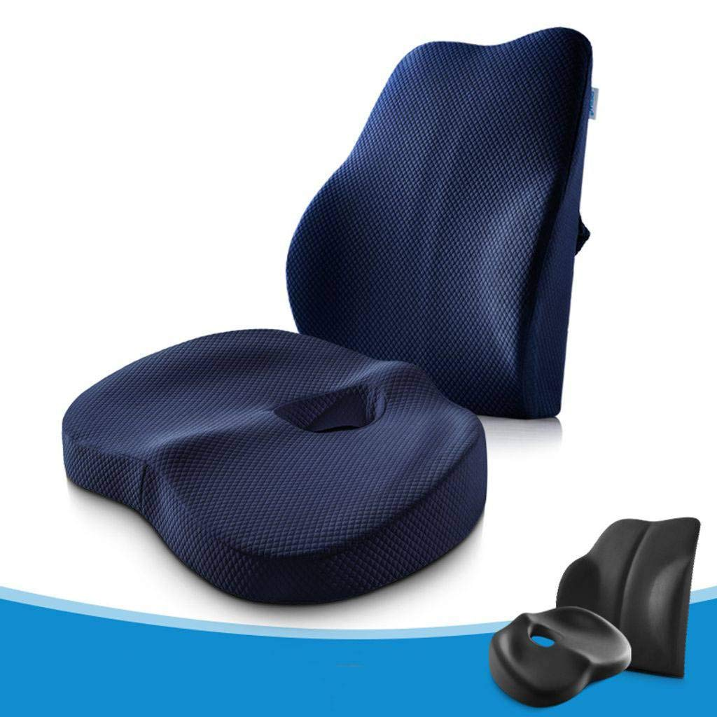 Seat Cushions Chair Cushion Chair Pads Cushion Pillow Memory Foam,Orthopedic Ergonomically Relieve Back, Sciatica, Coccyx and Tailbone Pain Office Chair-8