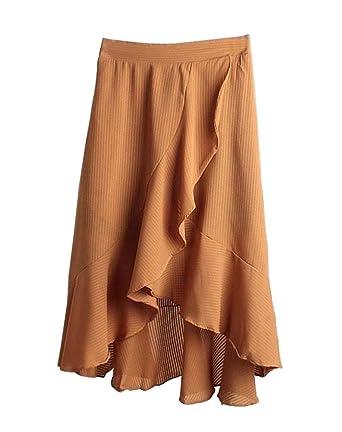 Black Temptation Falda de falda irregular de la falda de la playa ...