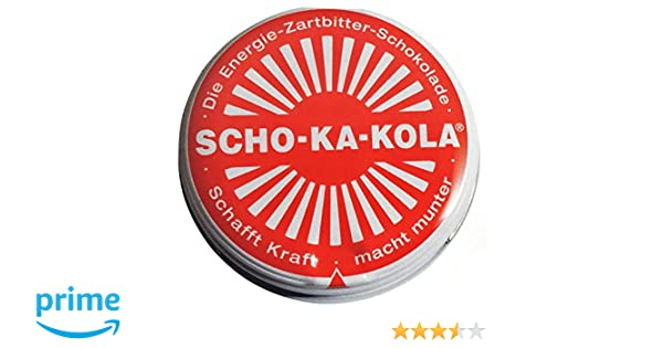 Scho-Ka-Kola Chocolate con cafeína alemán (3): Amazon.es: Alimentación y bebidas