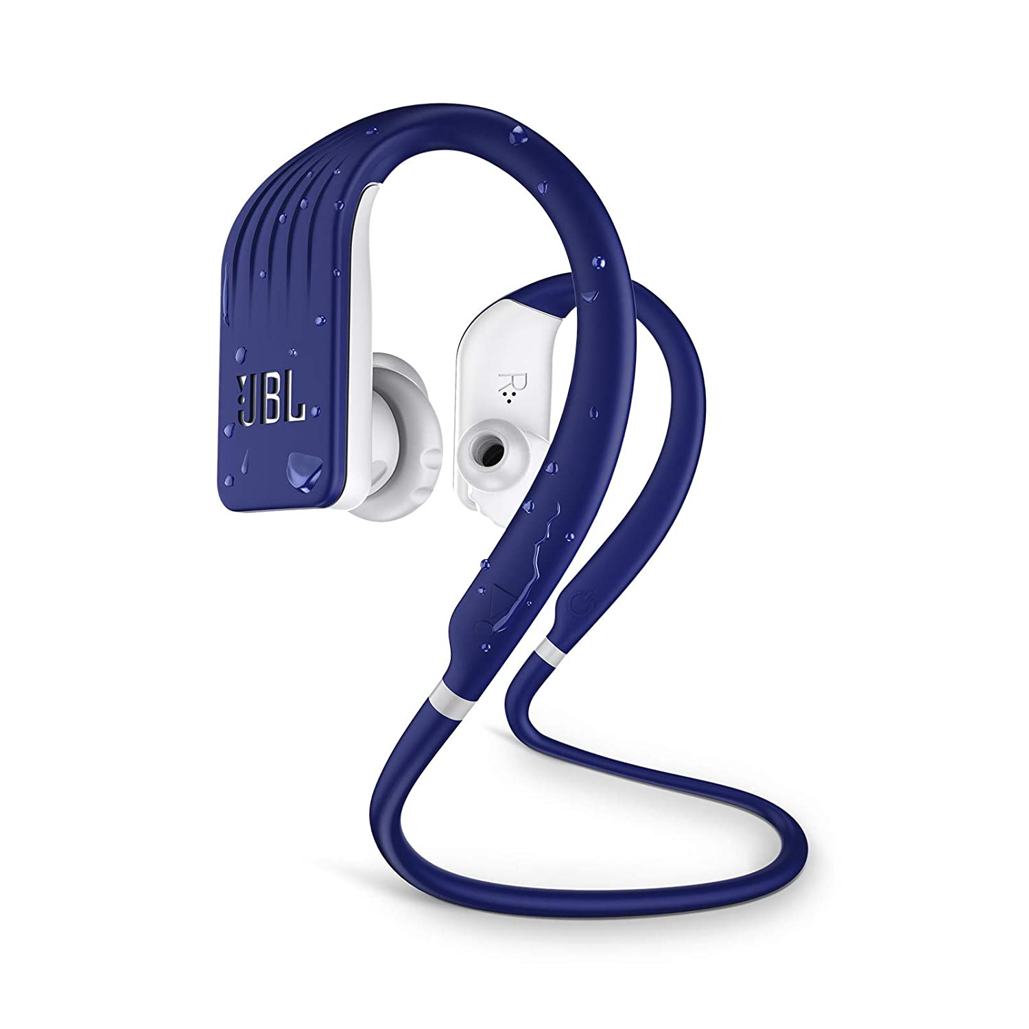 JBL Endurance Jump, Wireless in-Ear Sport Headphone with One-Button  Mic/Remote - Blue