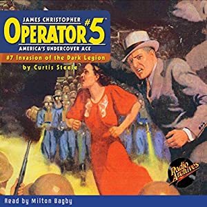 Operator #5 #7 October 1934 Audiobook