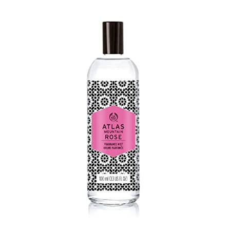 The Body Shop Atlas Mountain Rose Fragrance Mist (100ml) Body Sprays and Mist at amazon