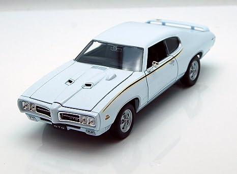 1965 Pontiac GTO Welly 22092-1//24 scale Diecast Model Toy Car Green
