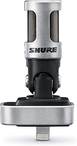 Shure iOS Digital Stereo Condenser USB Microphone (Model: MV88)
