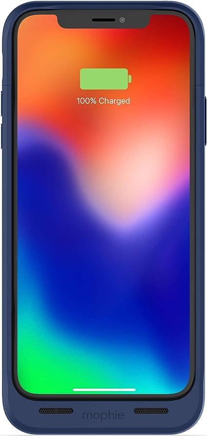 Mophie Juice Pack Air Powerbank Für Iphone X Blau Elektronik