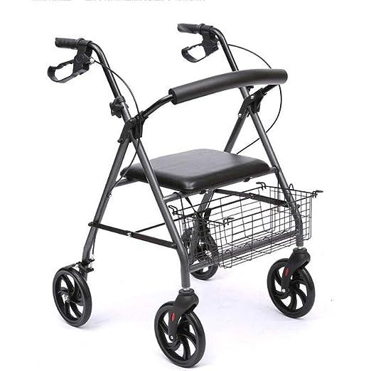 Silla de ruedas plegable de edad avanzada para Grandma Grandpa Gif ...