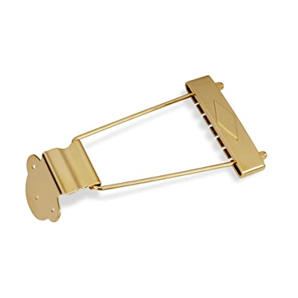 Amazon com: Golden Age Thin Body Trapeze Tailpiece, Gold