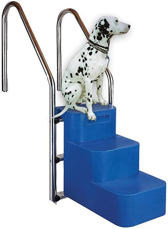 Escalera de piscina para perro enterradas: Amazon.es: Bricolaje y herramientas