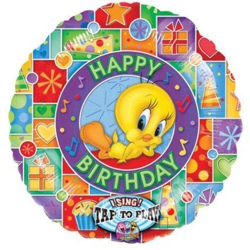 Tweety Happy Birthday Sing-A-Tune Balloon 28