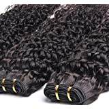 Goood Hair Grade 7a Malaysian Virgin Hair Weave Malaysian Curly Virgin Hair Remy Human Hair Bundles Malaysian Deep Curly Virgin Hair Weave 50g/ps 1pcs/ Lot (14 Inch)