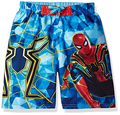 Marvel Little Boys' Infinity War Swim Shorts, Multi, 5/6 by Marvel