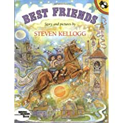 Image: Best Friends (Pied Piper Paperback), by Steven Kellogg. Publisher: Puffin Books; Reprint edition (August 15, 1992)