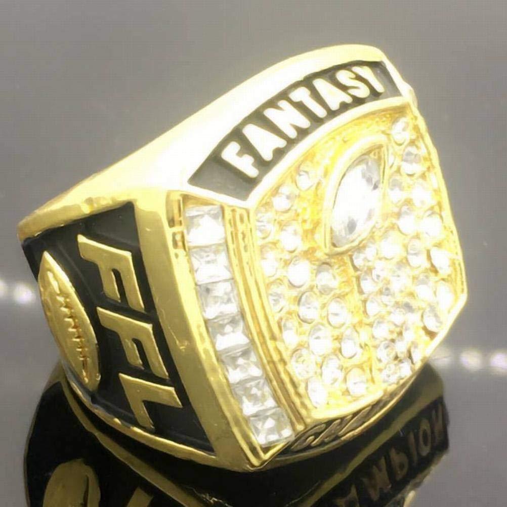 Ibuprofen Sport Fans Collection Champion Ringe Fans M/änner Memorial Ringe High-End-Kollektionen Fans Legierung Ringe Herren Accessoires Vintage-Zubeh/ör