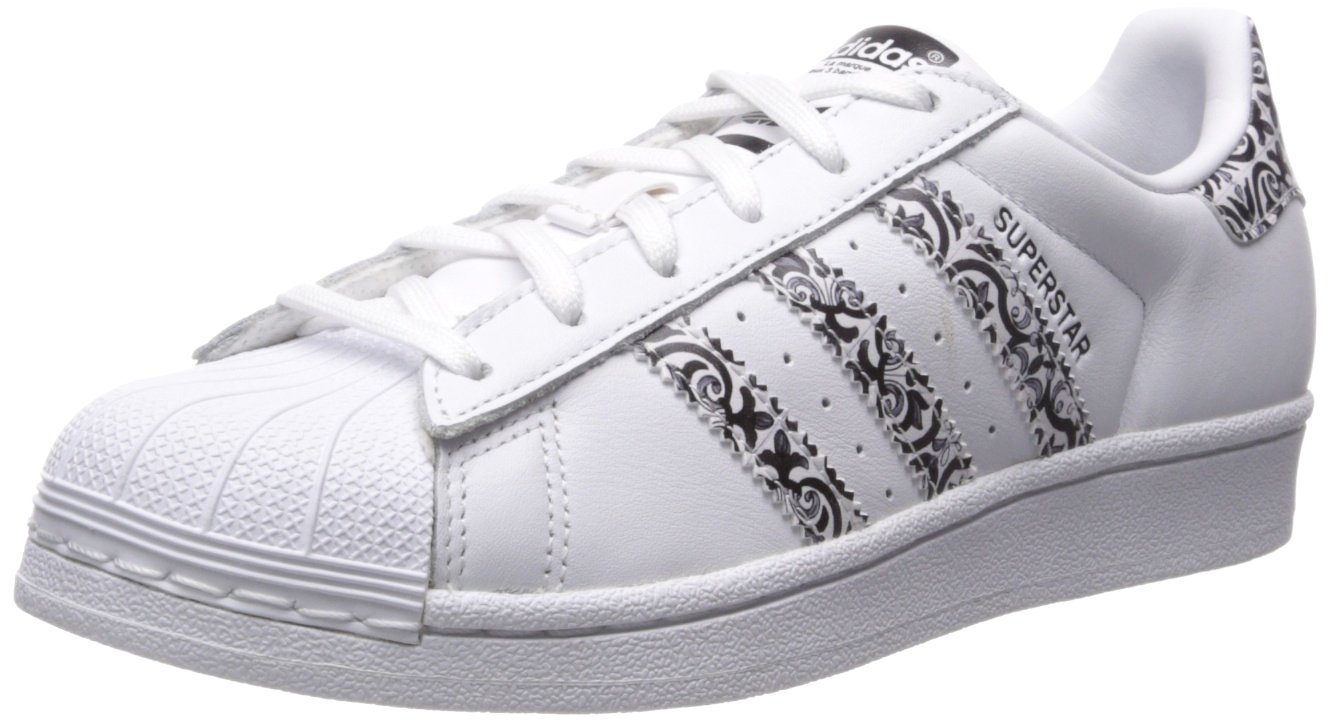 adidas Women's Originals Superstar B06XX4617P 8.5 B(M) US|White/Black/White