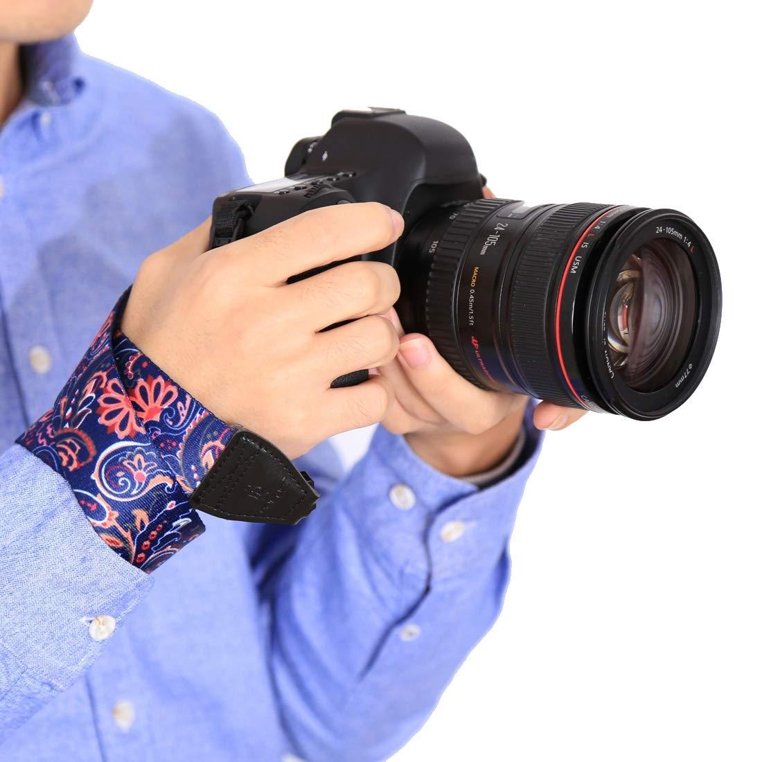 Color : Color2 Retro Ethnic Style Multi-Color Series Shoulder Neck Strap Camera Strap for SLR//DSLR Cameras
