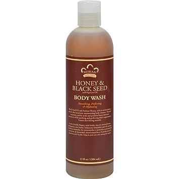 Amazon.com: Nubian Heritage Body Wash Honey And Black Seed - 13 Fl ...