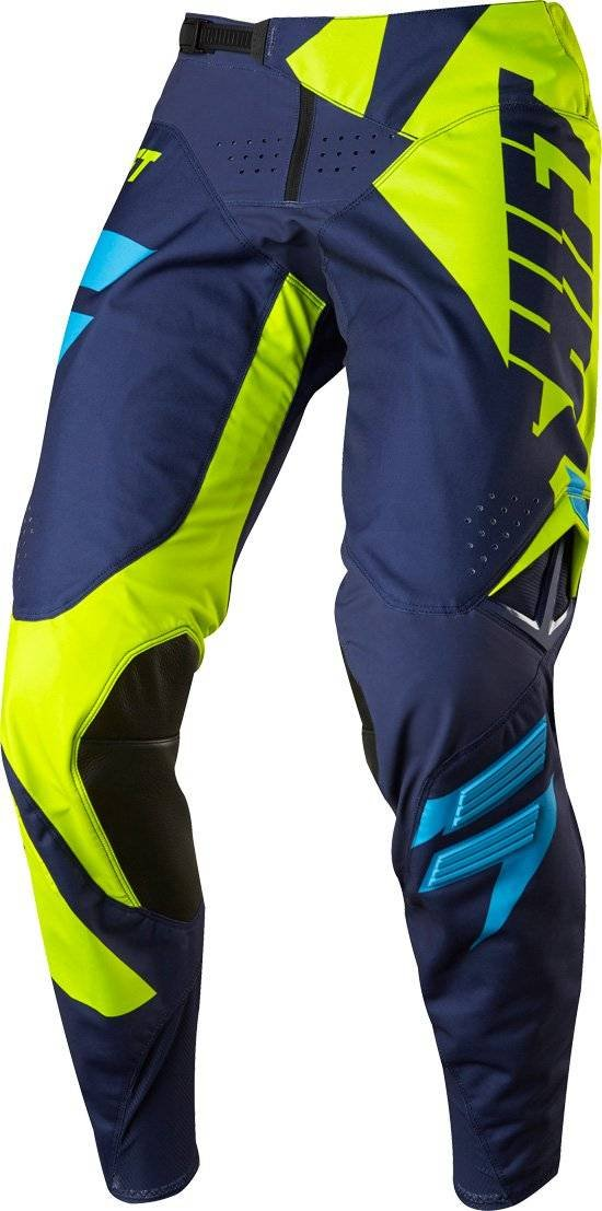 Shift MX 2017 Black Label Mainline Yellow Jersey/ Pant Combo - Size LARGE/ 34W