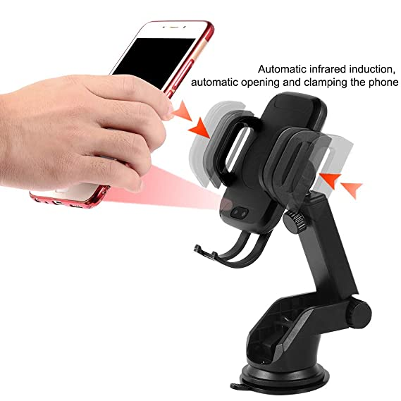 Wireless Charger Car Mount Adjustable Air Vent Phone Holder for iPhone 8 8Plus X XS XS MAX XR Samsung Galaxy S7 S7edge S8 S8edge S9 S9edge Galaxy Note 5 Nexus 4 and Other Smart-Phone Jiukesong 4351673043