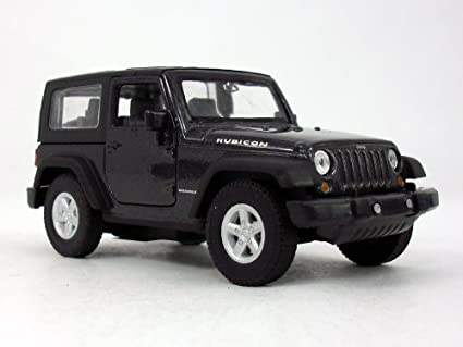 Amazon Com 4 25 Inch Jeep Wrangler Rubicon Hard Top 1 32 Scale