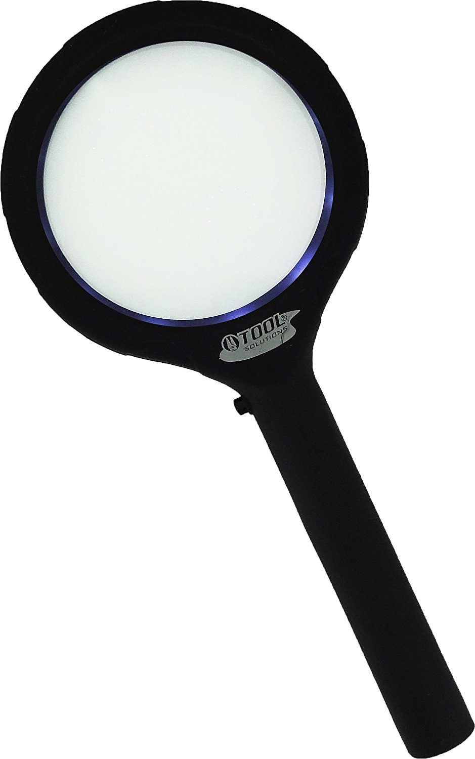 WCI ML1224-BOX 3.4 Inches Lumifier PRO 3X Power 3 COB LED Brightest Light Handheld XL Magnifier Pack of 2