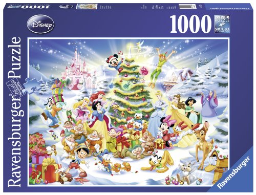 Ravensburger Disney Christmas Eve Jigsaw Puzzle (1000 Pieces) (Donald Duck Puzzles 1000 Piece compare prices)