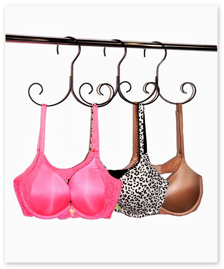 Bra Hanger-- Lingerie Hanger, Bra Dryer, Bra Rack, Bra Bag, Bra Wash Bag, Mes...