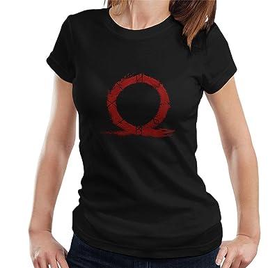 God Of War Omega Symbol Womens T Shirt Amazon Clothing