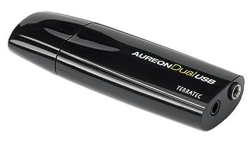 TerraTec Aureon Tarjeta de Sonido Externa (USB, 3.5 mm, S/PDIF, 48 kHz), Color Negro