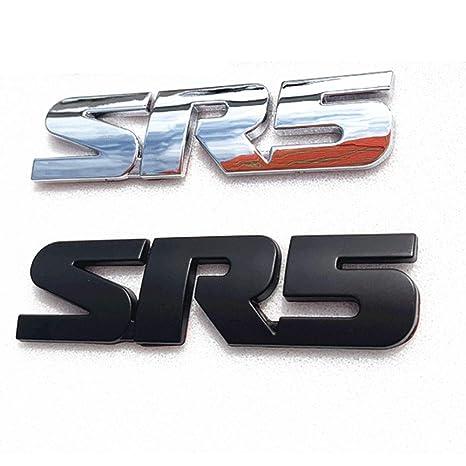 Black V6 Trunk Back Decal Emblem Sticker Badge For TACOMA