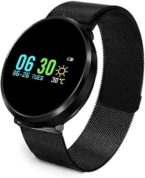 Meiqils 2019 Smartwatch Correa Magnética Ajustable Reloj ...