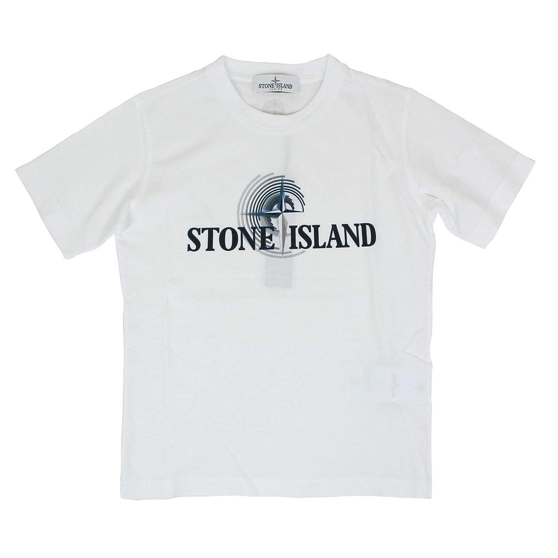 Stone Island 701621455V0001 - Camiseta de algodón para niño, Color ...