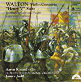 Walton: Violin Concerto / Henry V Suite / Spitfire Prelude and Fugue / Capriccio Burlesco