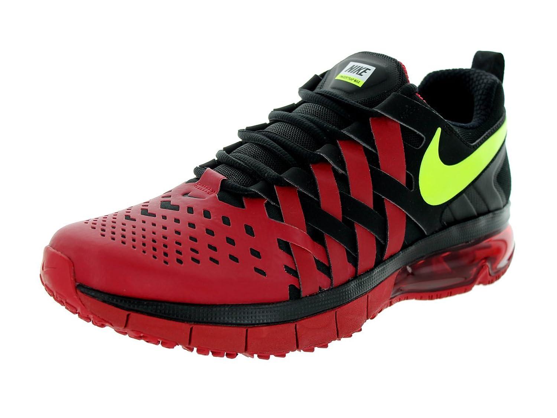 Amazon.com | Nike Men\u0027s Fingertrap Max Gym Red/Volt/Black/White Training  Shoe 11 Men US | Fitness \u0026 Cross-Training