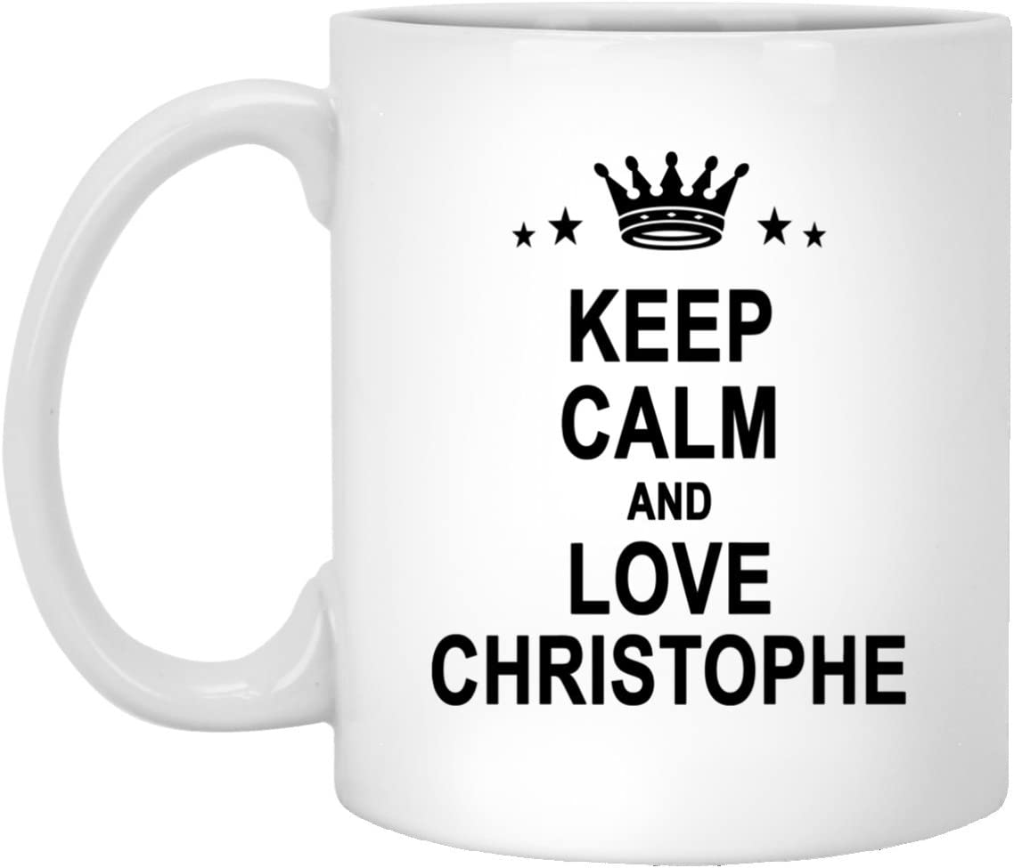 Christophe Name Gifts - Keep Calm And Love Christophe Tea Cup ...
