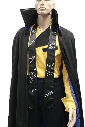 Amazoncom Star Wars Lando Calrissian Costume Shirt Cloak Scarf Han