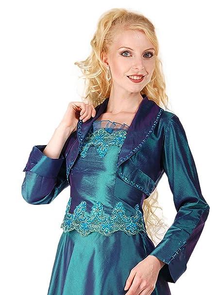 Austen - 1500 Bolero compatible con vestido de colour azul 38 _AONEWLINEAO_ - 62 gr. petróleo 46: Amazon.es: Ropa y accesorios