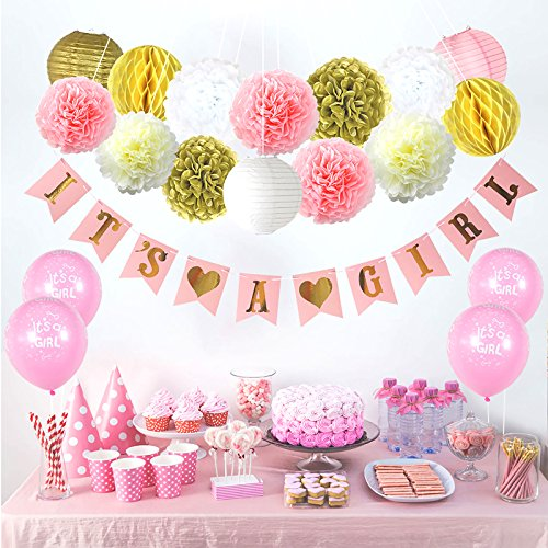 Party Decor Baby Shower Decorations For Girl –