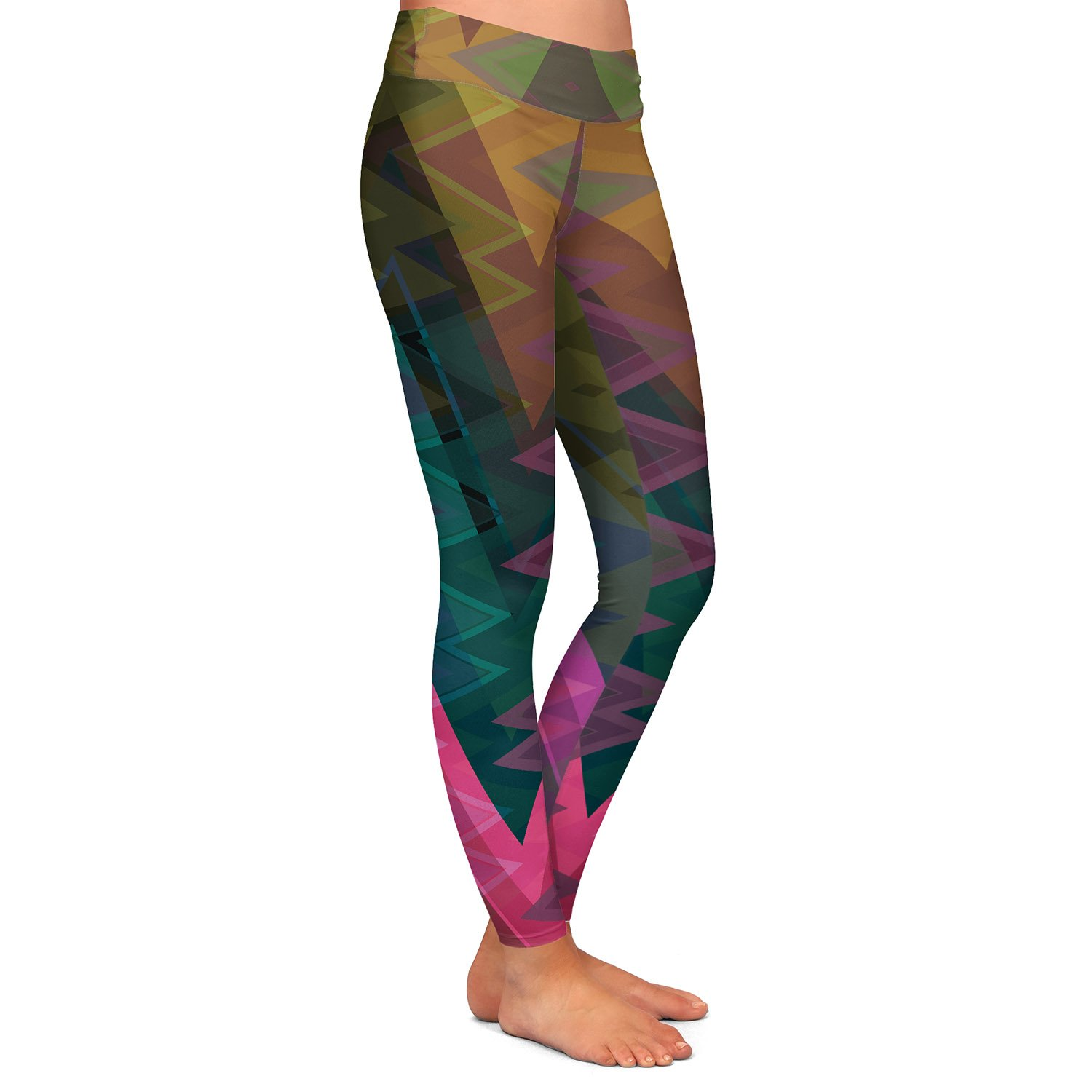 Entrancement Athletic Yoga Leggings from DiaNoche Designs by Christy Leigh