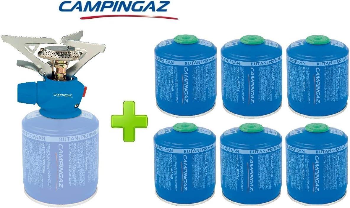 Poids 263 g Puissance 2 900 W Allumage /électrique 1 Cartouche /à gaz CV470 de 450 grammes ALTIGASI R/échaud /à gaz Twister Plus PZ Campingaz