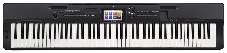 Casio px-360mbk – Tastatur MIDI (Knöpfe, Berühren, Wechselstrom, Wechselstrom, LCD, USB)