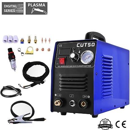 Cortador de plasma con inversor de aire y máquina soldadora de Tosense, corte de 50A