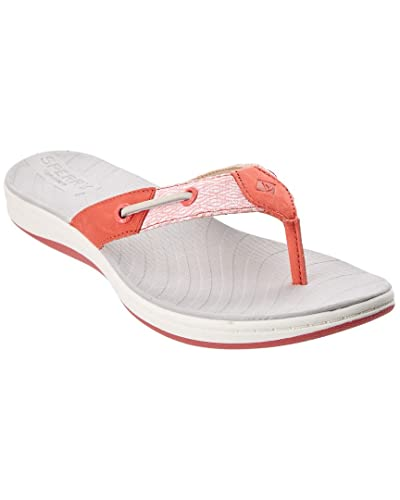2aae1d6e96b7 Sperry Women s Seabrook Surf Mesh Flip Flop Wild Rose